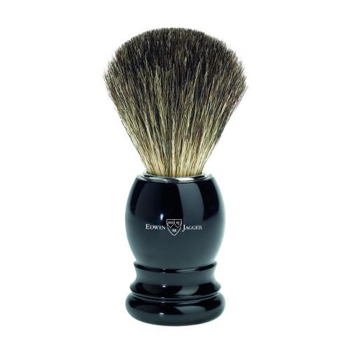 Edwin Jagger Pure Badger Hair Imitation Ebony Shaving Brush