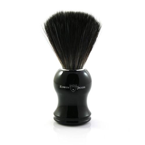 Edwin Jagger Synthetic Fiber Imitation Ebony Shaving Brush
