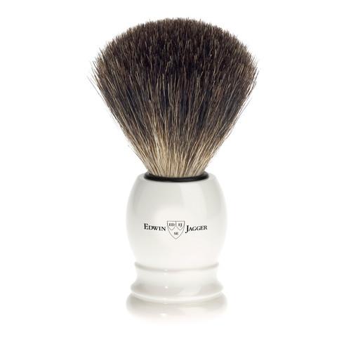 Edwin Jagger Pure Badger Hair Imitation Ivory Shaving Brush