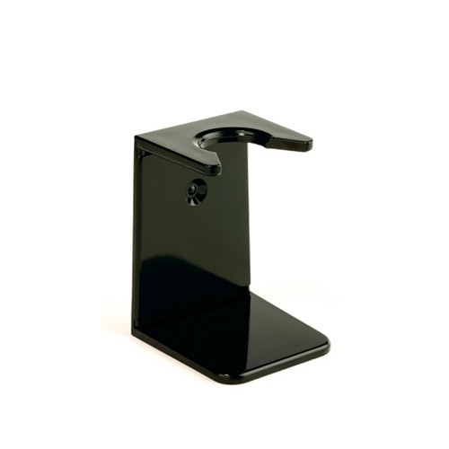 Edwin Jagger Imitation Ebony Plastic Small Neck Shaving Brush Stand