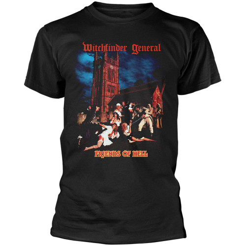 Witchfinder General Friends of Hell T-Shirt