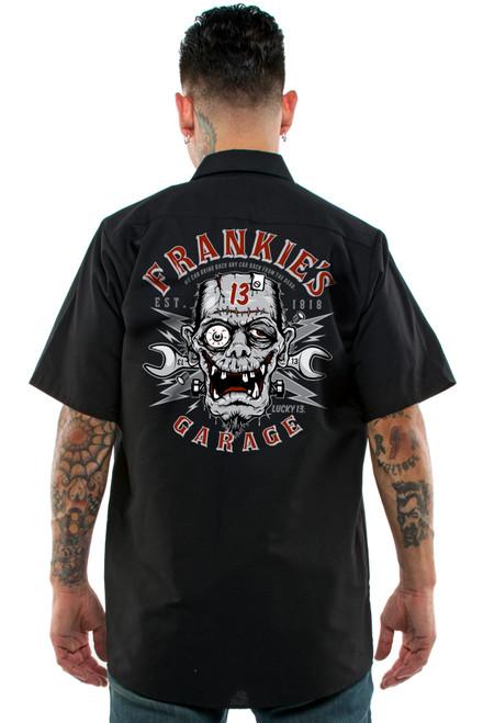 Lucky 13 Frankie's Garage Work Shirt