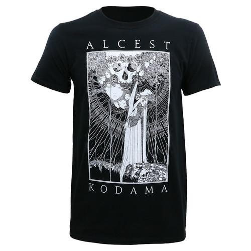 Alcest Kodama Faces/Skull Slim-Fit T-Shirt
