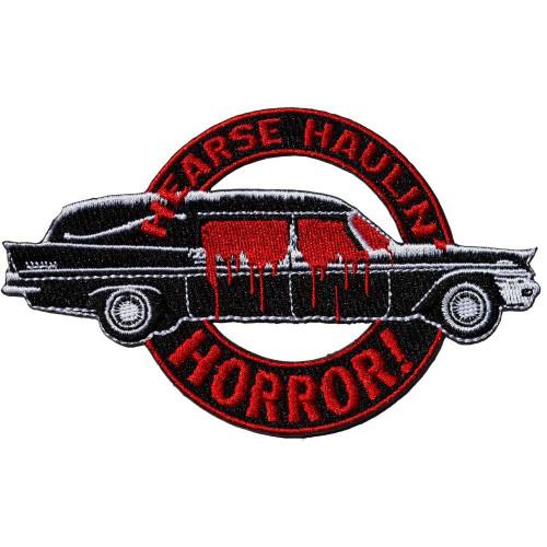 Kreepsville 666 Hearse Haulin' Horror Embroidered Patch