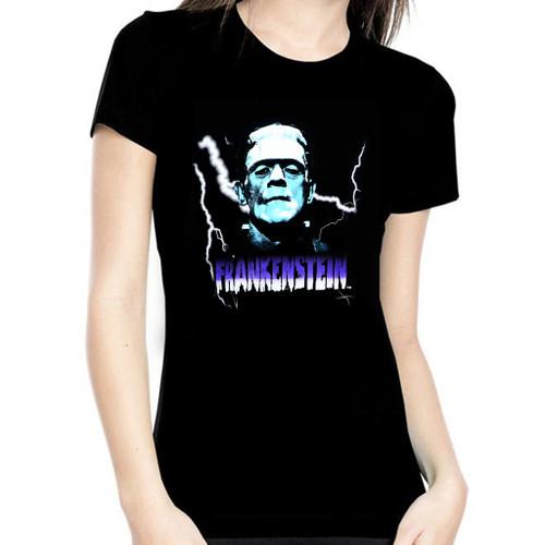 Universal Blue Frankenstein Women's T-Shirt