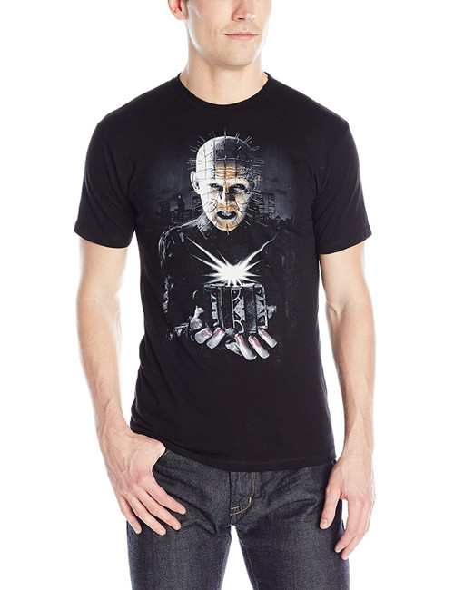 Hellraiser 3 Hell On Earth Puzzle Box Slim-Fit T-Shirt