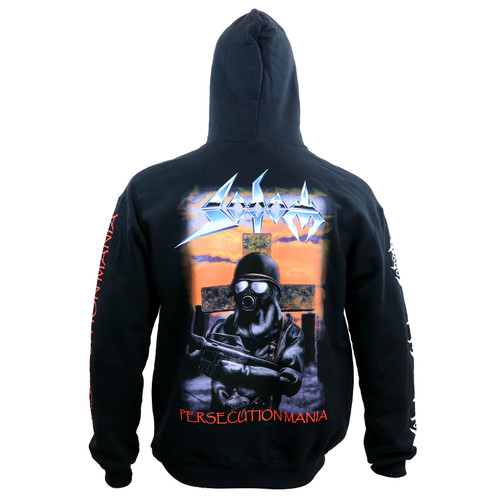 Sodom Persecution Mania Pullover Hoodie