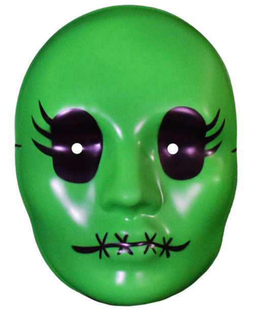 Tragedy Girls Sadie Cunningham Vacuform Mask Green