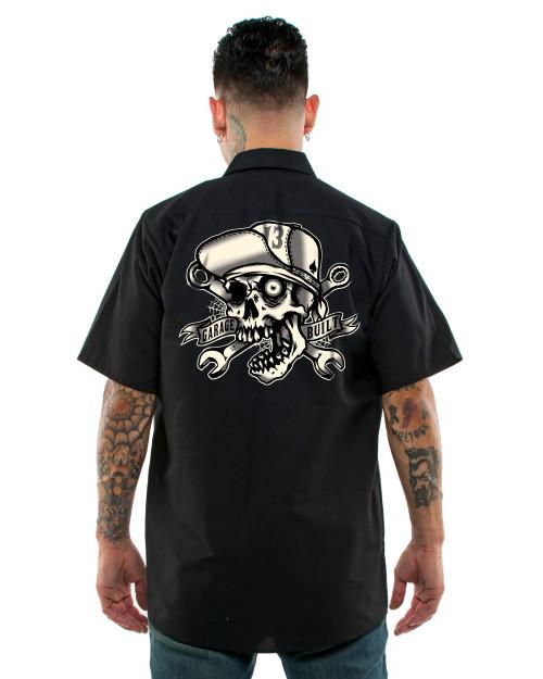 Lucky 13 Skull Bro Work Shirt