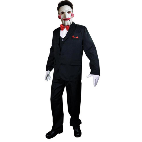 Saw Billy Puppet Adult Costume With Mask