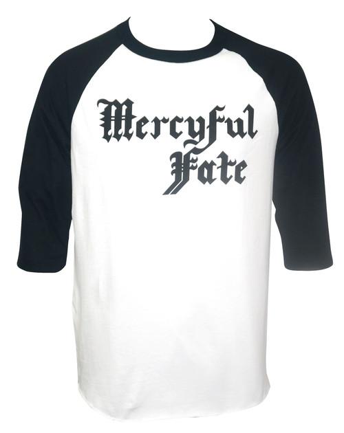 Mercyful Fate Band Logo Raglan T-Shirt