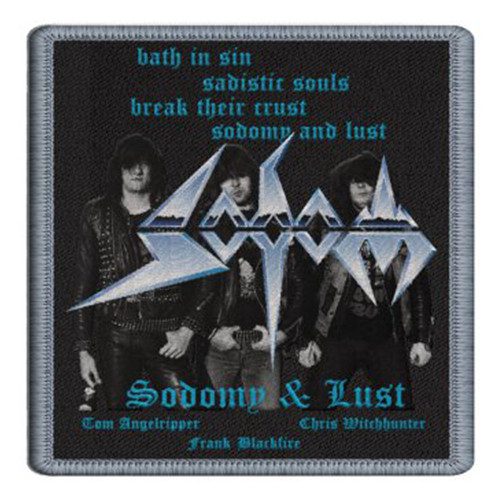 """Sodom Sodomy and Lust Patch 4"""" x 4"""""""