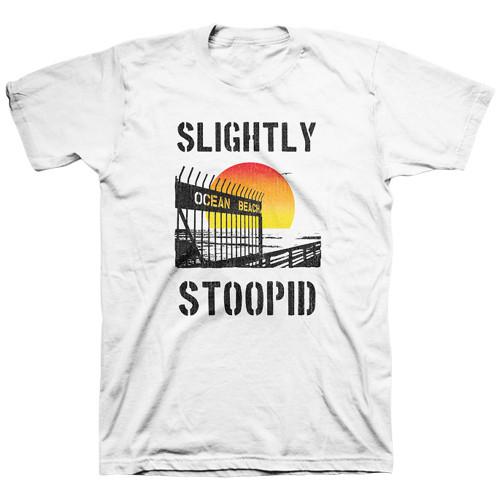 Slightly Stoopid Ocean Beach Gate T-Shirt White