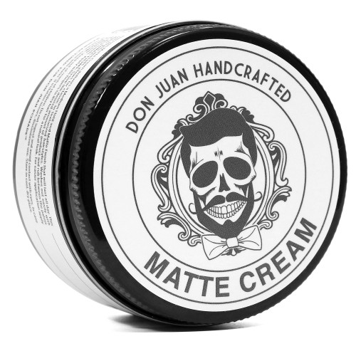 Don Juan Handcrafted Matte Cream Pomade 4oz