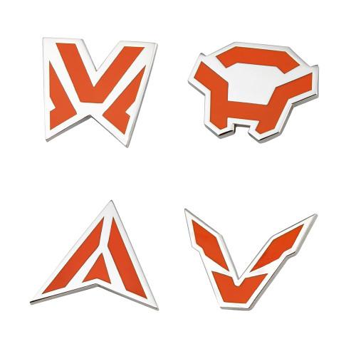 Anthem Javelin Icons Enamel Pin Set
