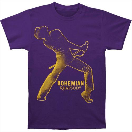 Queen Bohemian Rhapsody Fortune Slim-Fit T-Shirt Purple