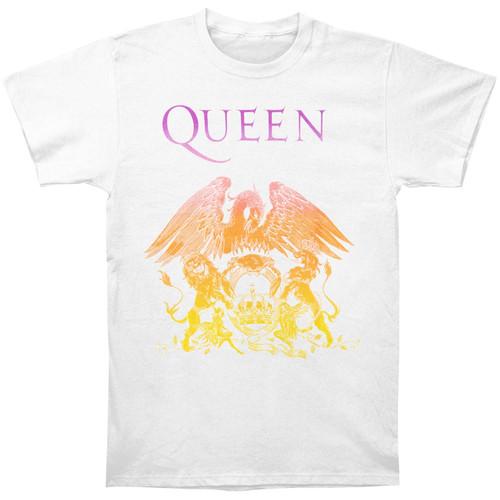 Queen Crest Slim-Fit T-Shirt White