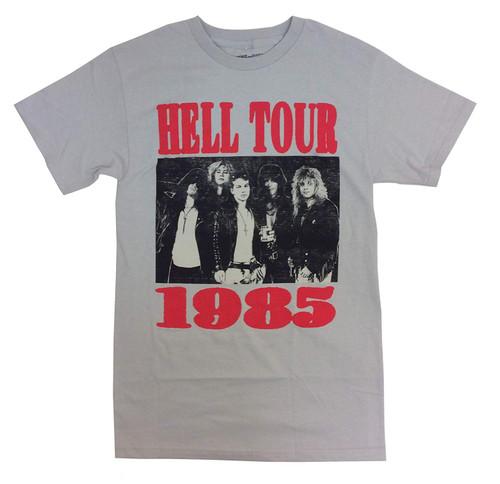 Guns N' Roses Hell Tour '85 T-Shirt Silver