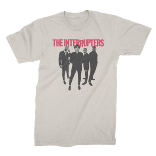 The Interrupters Fight The Good Fight Slim-Fit T-Shirt Natural
