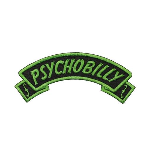 Kreepsville 666 Arch Psychobilly Embroidered Patch