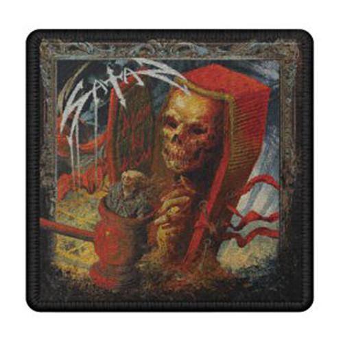 Satan Atom By Atom Album Logo Embroidered Patch