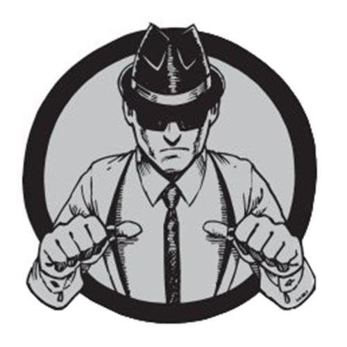 The Interrupters Suspenders Enamel Pin
