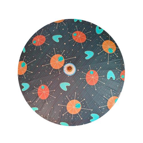 Retro A Go Go Spacecapades Parasol