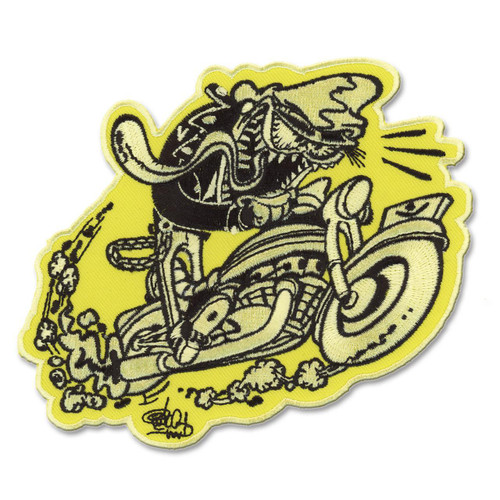 Retro A Go Go Shawn Dickinson Cycle Freak Embroidered Patch