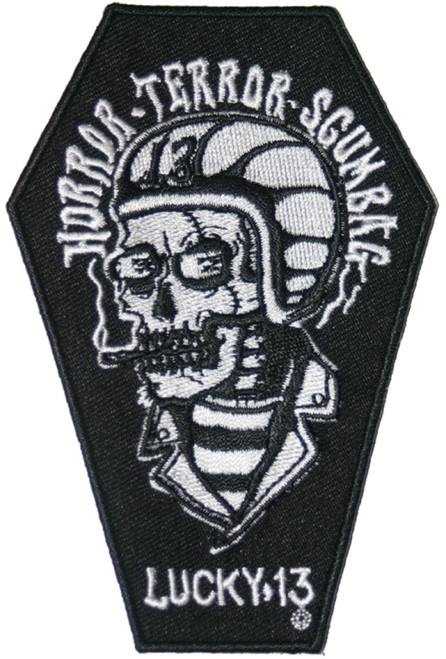 Lucky 13 Scumbag Embroidered Patch