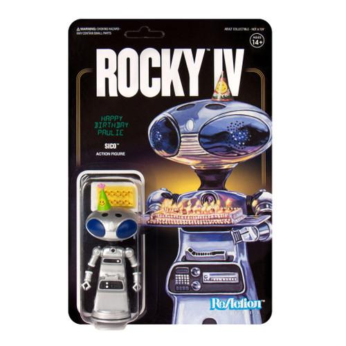 """Super7 Rocky IV Paulie's Robot ReAction Figure 3.75"""""""