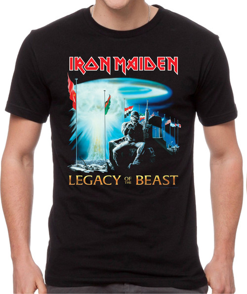 Iron Maiden Two Minutes To Midnight T-Shirt