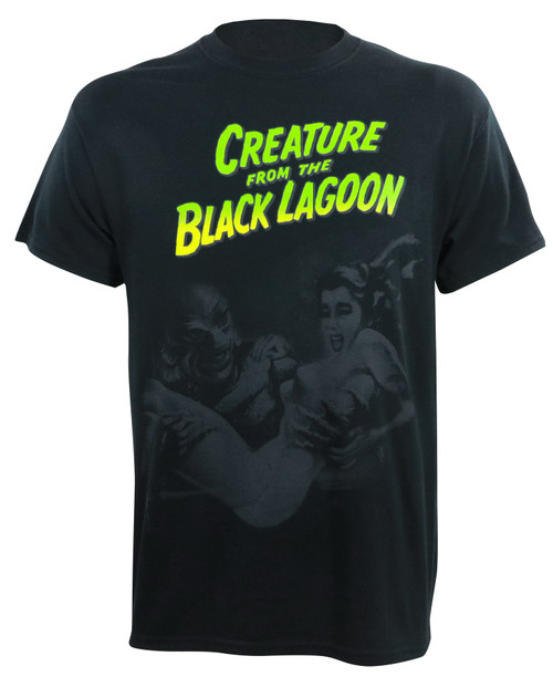 Universal Monsters Creature with Woman T-Shirt