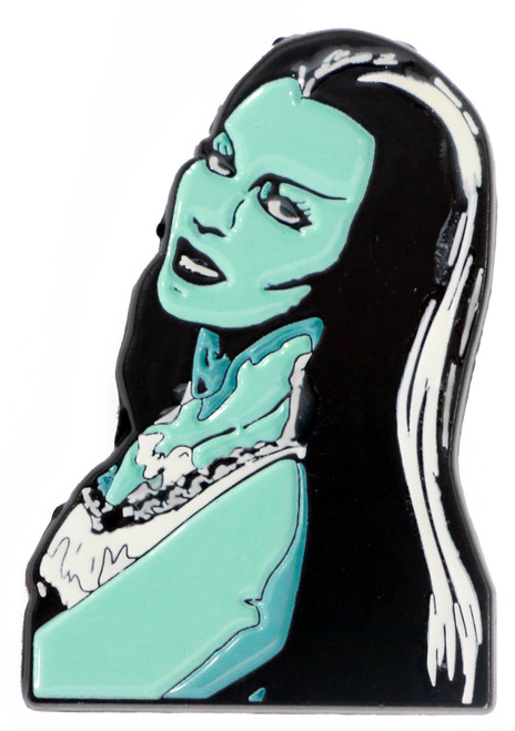 Universal The Munsters Lily Glow In The Dark Enamel Pin