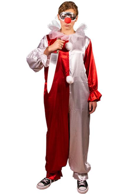 Halloween 4 Adult Jamie Lloyd Clown Costume & Mask