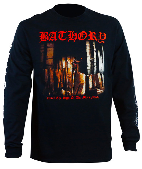 Bathory Under The Sign Of The Black Mark Longsleeve T-Shirt