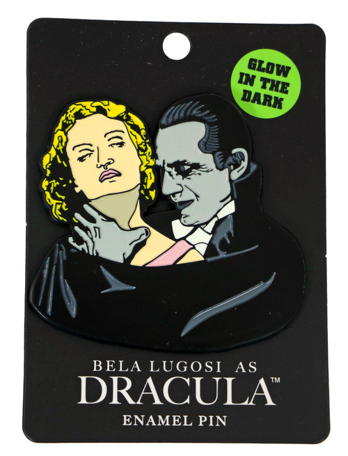 Bela Lugosi As Dracula Choke Glow In The Dark Enamel Pin
