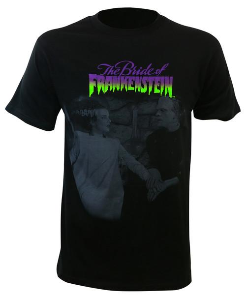 Universal Monsters Bride Of Frankenstein Dead Couple T-Shirt