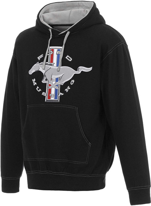 JH Design Ford Mustang Pull Over Hoodie