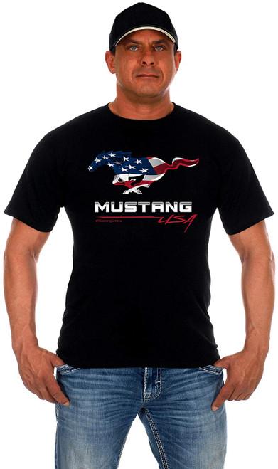 JH Design Ford Mustang USA T-Shirt