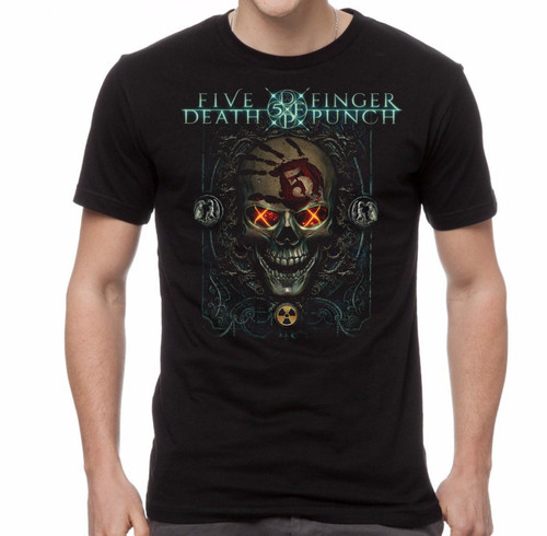 Five Finger Death Punch Iron Skull T-Shirt