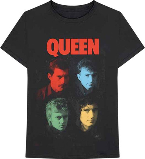 Queen Hot Space V2 T-Shirt Black