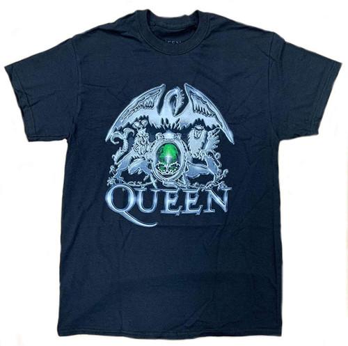Queen Metal Crest T-Shirt Black
