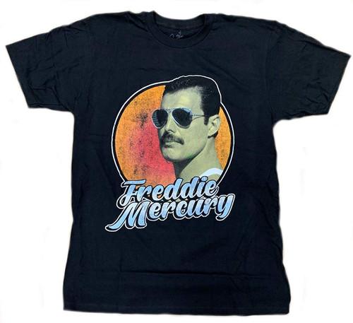 Queen Freddie Mercury Script T-Shirt Black