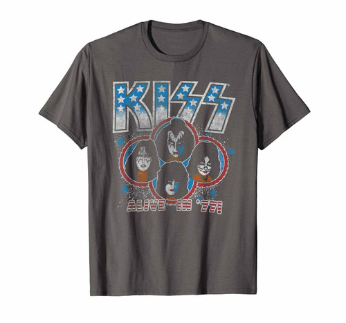 Kiss Alive in 77 Wash T-Shirt