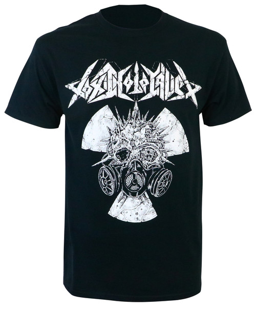 Toxic Holocaust Radiation Gas Mask T-Shirt