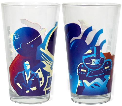 SUPER7 Drinkware Ripley Pint Glass 16 ounce