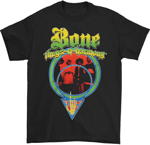 Bone Thugs-N-Harmony Men's I.E.S. T-Shirt Black