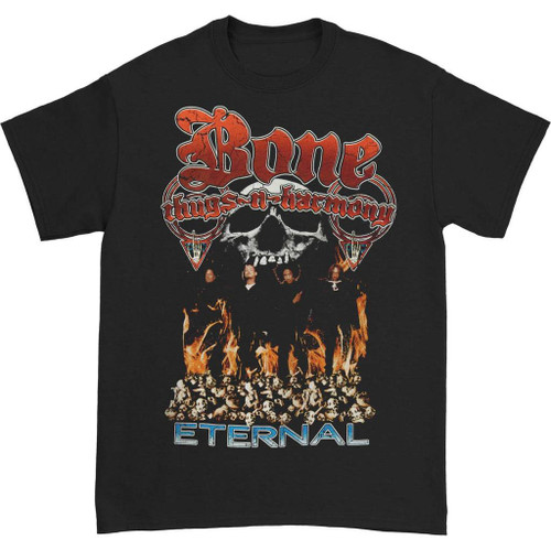 Bone Thugs-N-Harmony Men's Eternal T-Shirt Black