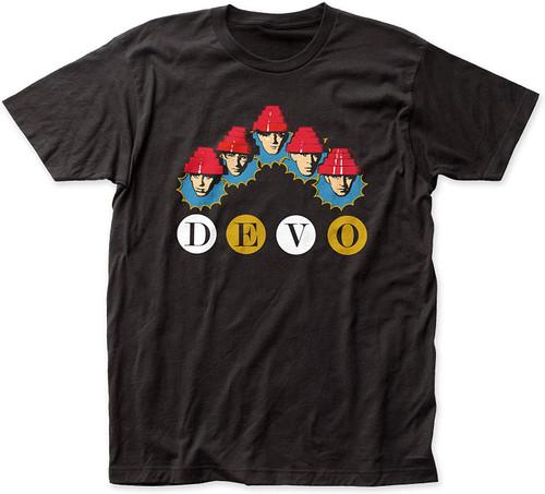 Devo Whip It Heads Slim-Fit T-Shirt