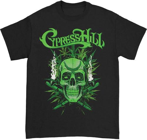 Cypress Hill Men's 420 Black Slim-Fit T-Shirt